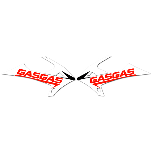GAS GAS EC300 2020 - GRAPHICS KIT OEM REPLICA STICKERS