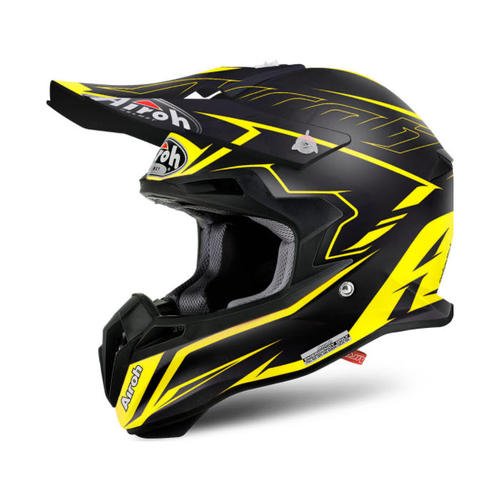 AIROH TERMINATOR 2.1 SLIM YELLOW MX MOTOCROSS HELMET