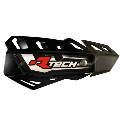 KTM 200 EXC  -  RACETECH FLEX MX VENTED HANDGUARDS MOTOCROSS HAND GUARDS - BLACK