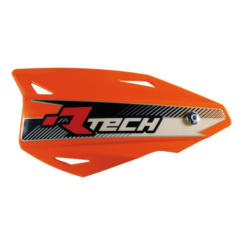 RACETECH VERTIGO HANDGUARDS MX MOTOCROSS HAND GUARDS ORANGE