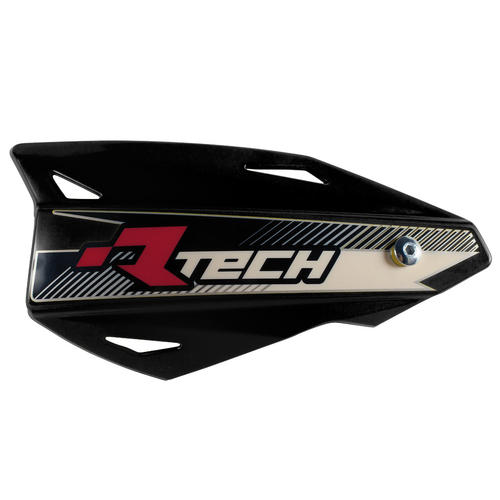 SUZUKI RMZ250  -  RACETECH VERTIGO MX HANDGUARDS MOTOCROSS HAND GUARDS - BLACK