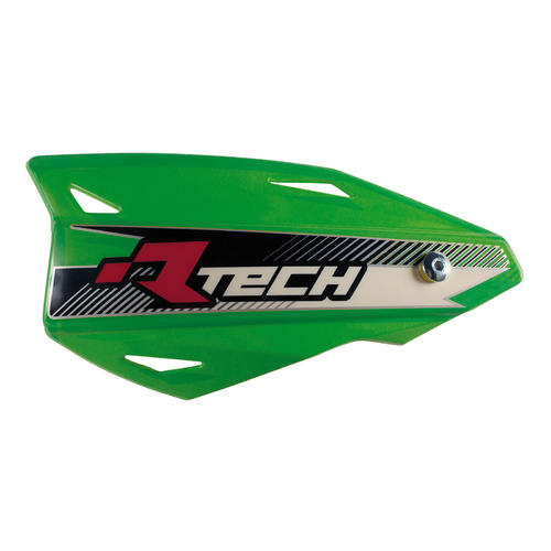 RACETECH VERTIGO HANDGUARDS MX MOTOCROSS HAND GUARDS GREEN