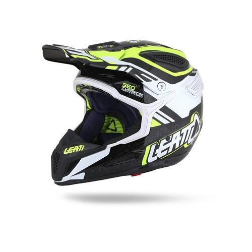 LEATT GPX 5.5 MOTOCROSS MX HELMET YELLOW/BLACK/WHITE