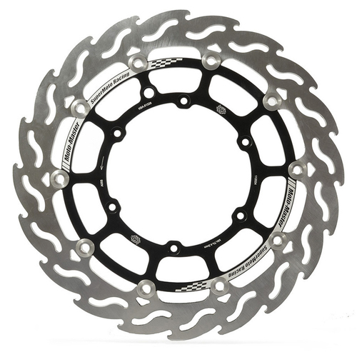 HUSABERG FE570 2008-2012 MOTO MASTER FRONT FLAME SUPERMOTO RACING 320MM FLOATING BRAKE DISC