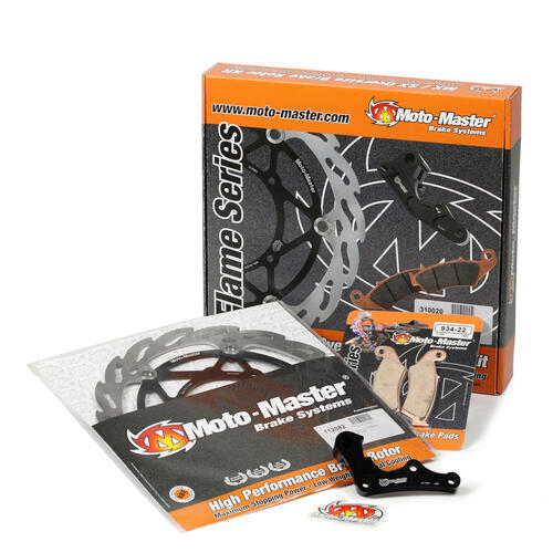 HUSQVARNA FE501 2014 - 2017 MOTO MASTER 270MM FRONT FLAME BRAKE DISC KIT