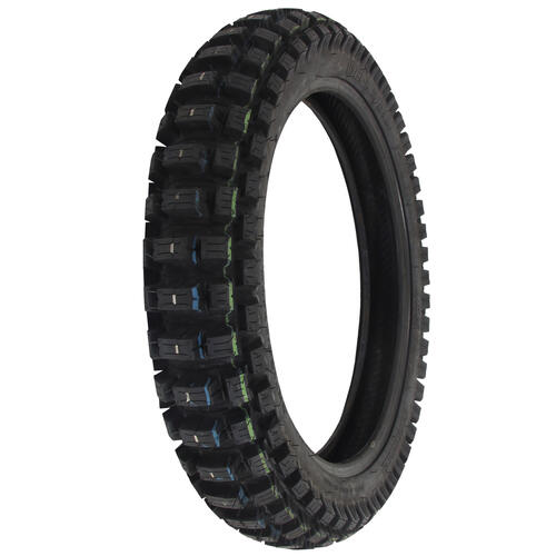 MOTOZ XTREME HYBRID 110/90-19 REAR MOTORCYCLE TYRE - ENDURO TRIALS DOT APPROVED