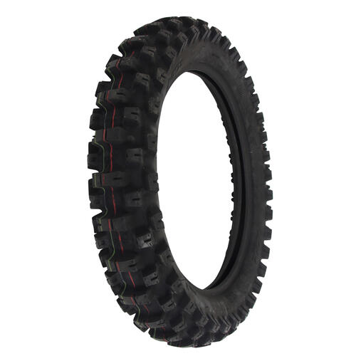 MOTOZ TRACTIONATOR 110/100-18 ENDURO TRAIL SOFT TERRAIN REAR MOTORCYCLE TYRE - DOT APPROVED