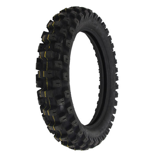 MOTOZ TRACTIONATOR 120/90-18 ENDURO TRAIL SOFT TERRAIN REAR MOTORCYCLE TYRE - DOT APPROVED