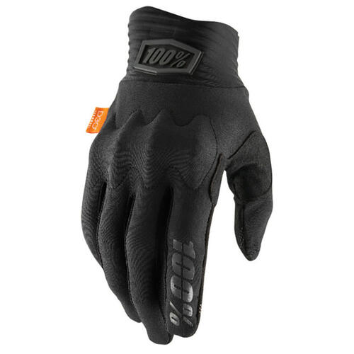 100% COGNITO BLACK MX MOTOCROSS GLOVES
