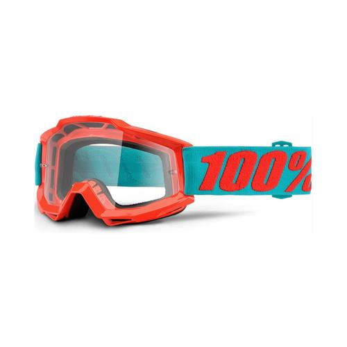 100% ACCURI PASSION ORANGE KIDS MOTOCROSS MX GOGGLES
