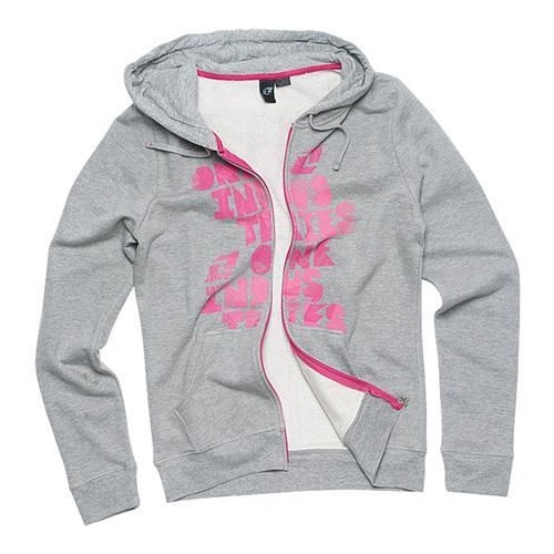 ONE INDUSTRIES GIRLS WHAT SO EVER GREY HOODIE JUMPER HOODY