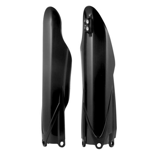 HONDA CRF450R 2002 - 2017 BLACK RACETECH FORK GUARDS PROTECTORS