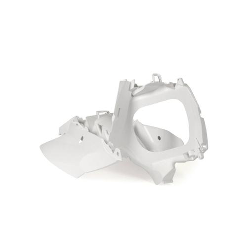 RACETECH WHITE AIR BOX + SIDE PANELS KTM SX SXF 11-15 / EXC EXCF 12-16