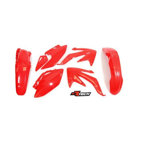 HONDA CRF450X 2008 - 2017 RACETECH RED PLASTICS KIT