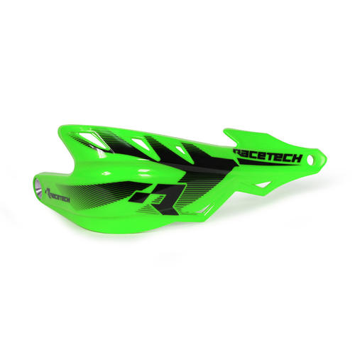 KAWASAKI KX450F  -  RACETECH ENDURO HANDGUARDS RAPTOR HAND GUARDS - GREEN