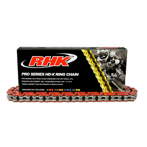 HONDA CRF250X  -  RHK 520 HEAVY DUTY RED X-RING CHAIN