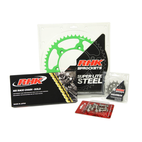 KAWASAKI KX450F 2006 - 2020 13T/49T RHK MX CHAIN & SPROCKET KIT