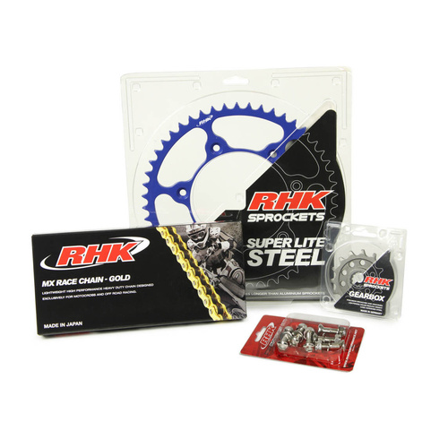 YAMAHA YZ450F 2003 - 2020 13T/47T - RHK MX CHAIN & SPROCKET KIT