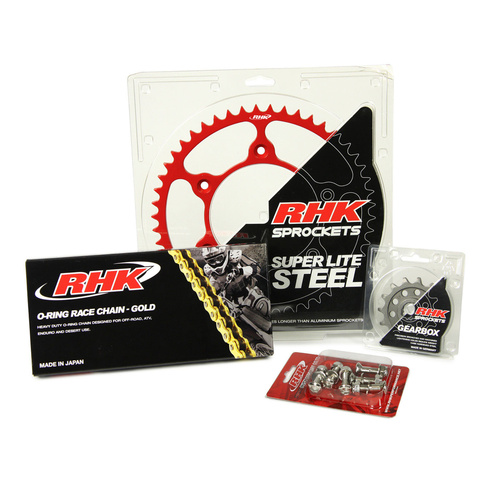 HONDA CRF250R 2004 - 2017 13T / 47T RHK O-RING CHAIN & SPROCKET KIT