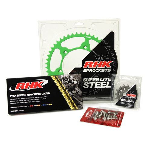 KAWASAKI KX450F 2006 - 2020 13T/49T RHK X-RING CHAIN & SPROCKET KIT