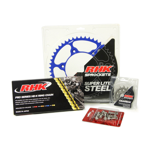 YAMAHA YZ250F 2001 - 2020 13T/48T - RHK X-RING CHAIN & SPROCKET KIT