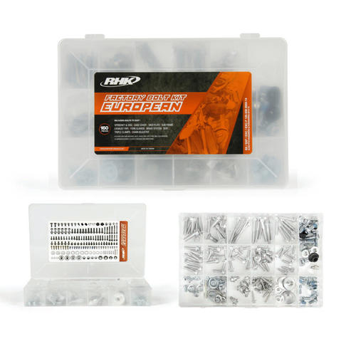 HUSABERG TE125  -  EURO RHK FACTORY 160 PIECE BOLT KIT