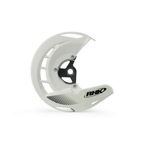 KTM 450 EXC-F 2003 - 2015 RHK FRONT DISC COVER GUARD WHITE