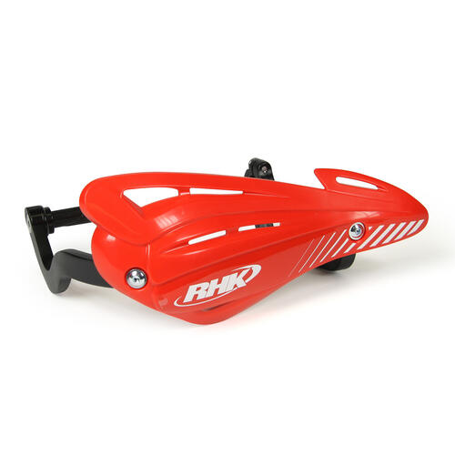 HONDA CR250  -  RHK XS HAND GUARDS WRAP ENDURO HANDGUARDS - RED