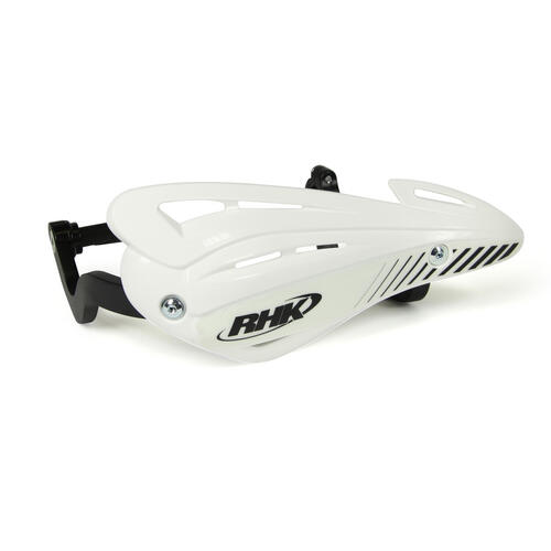 HUSQVARNA WR125  -  RHK XS HAND GUARDS WRAP ENDURO HANDGUARDS - WHITE