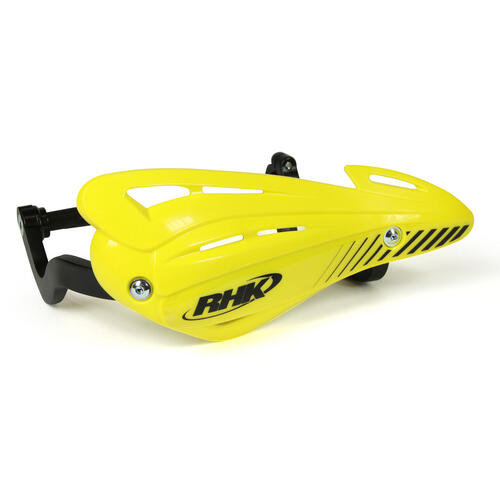 SUZUKI DR650  -  RHK XS HAND GUARDS WRAP ENDURO HANDGUARDS - YELLOW