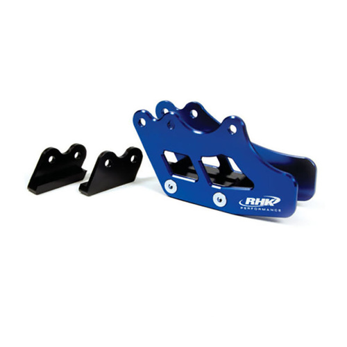 SUZUKI RMZ450 2005 - 2017 RHK ALLOY REAR CHAIN GUIDE - BLUE