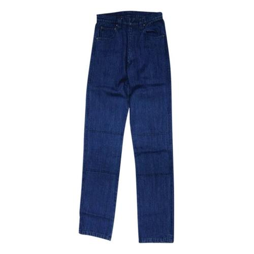 RIVET MADE WITH KEVLAR JEANS MOTORCYCLE PANTS BLUE (32)
