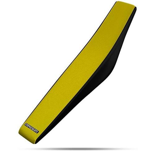 SUZUKI  DRZ250 2001 - 2018 STRIKE GRIPPER SEAT COVER YELLOW-BLACK
