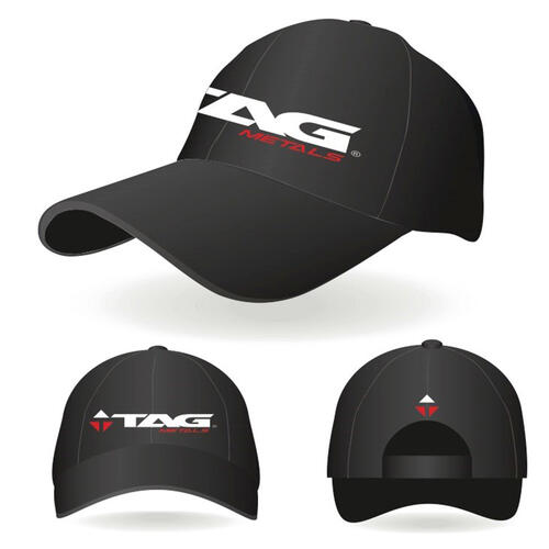 TAG TAG METALS TEAM BLACK HAT (SM/MD)