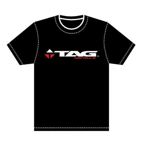 TAG METALS TEAM BLACK XXL T-SHIRT