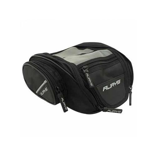 RJAYS MAGNETIC BLACK MOTORCYCLE TANK DAY BAG