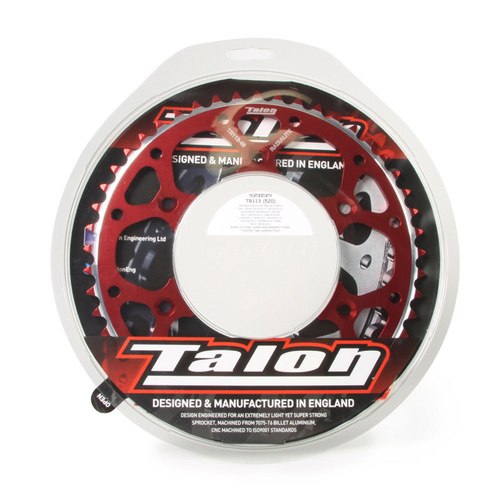 BETA 350 RR 2013 - 2017 TALON REAR SPROCKET RED 49T