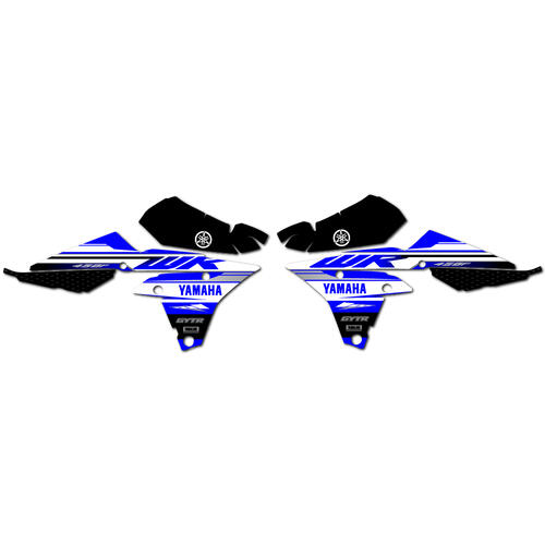YAMAHA WR450F 2019 - GRAPHICS KIT OEM REPLICA STICKERS