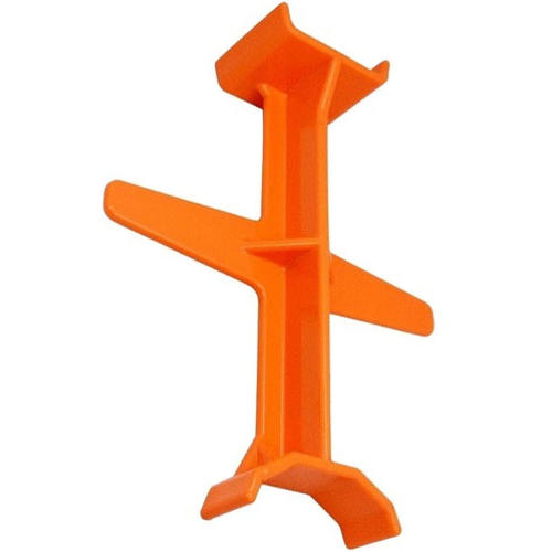 MOTORCYCLE FORK SUPPORT TIE DOWN STRUT BRACE - ORANGE